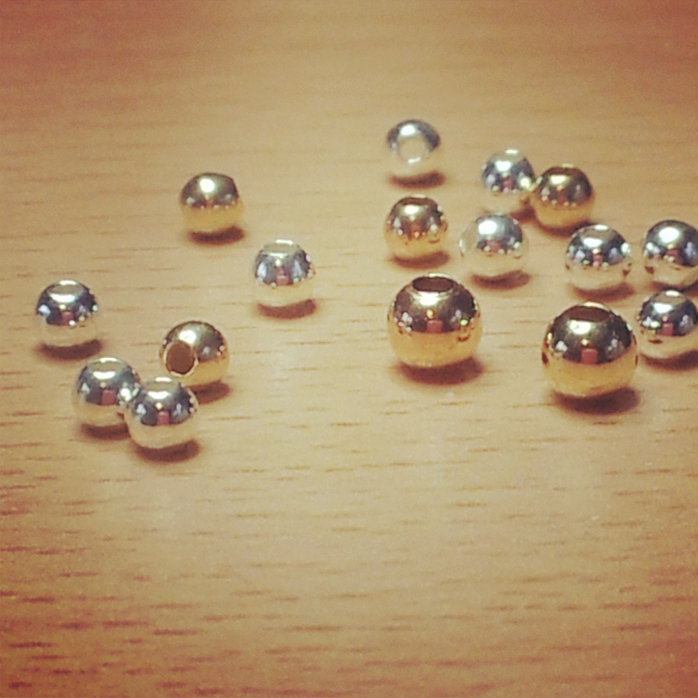 Gold and Silver Beads - Jacy & Jools