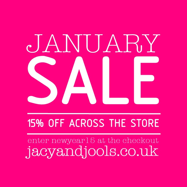 January Jewellery Sale from Jacy & Jools