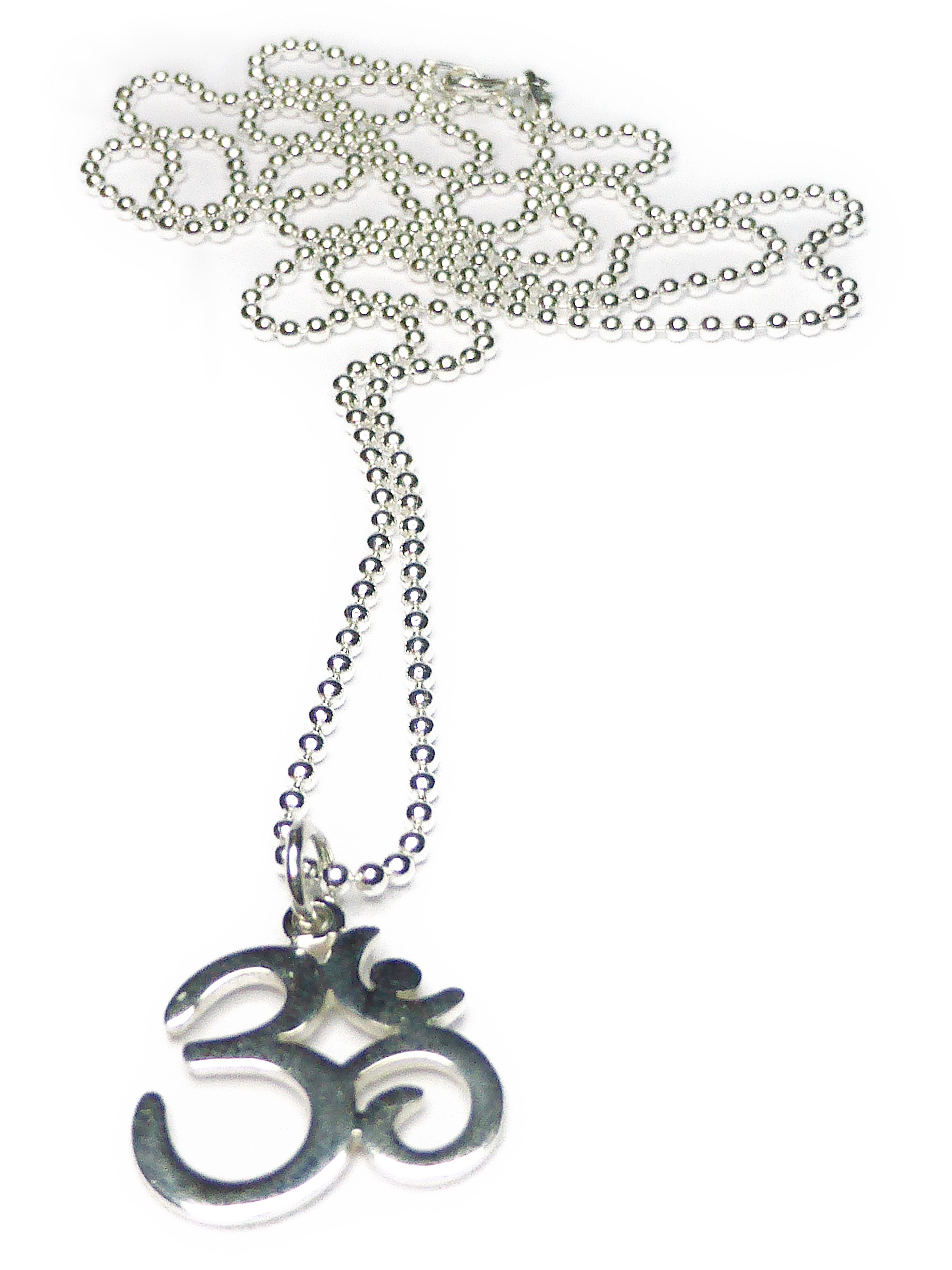 Ohm Ball Chain Pendant from Jaciy & Jools Summer Fling Collection