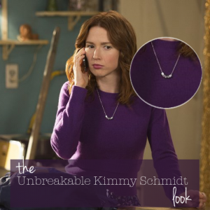 The Large Letters Necklace from Jacy & Jools for the Unbreakable Kimmy Schmidt Look