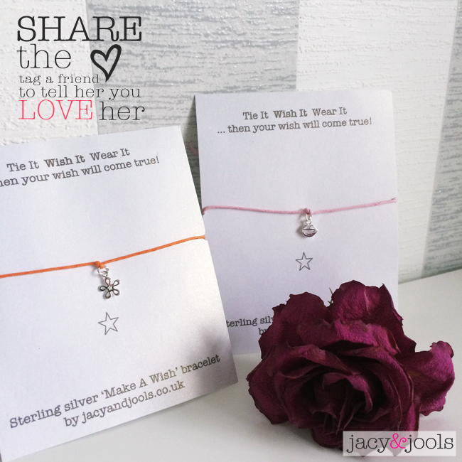 Win A Make A Wish Bracelet by Jacy & Jools for You and a Friend