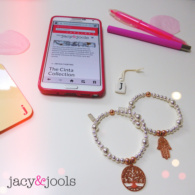 The Cinta Collection of Sterling Silver Bracelets by Jacy & Jools